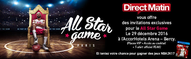 Gagnez des invitations pour le All Star Game
