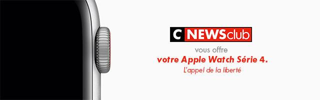 Gagnez votre Apple Watch Série 4