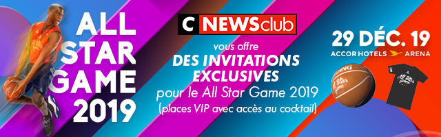 Gagnez vos invitations pour le All Star Game 2019