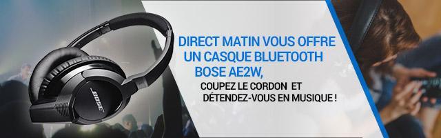 Jeu concours : gagnez un casque bluetooth Bose