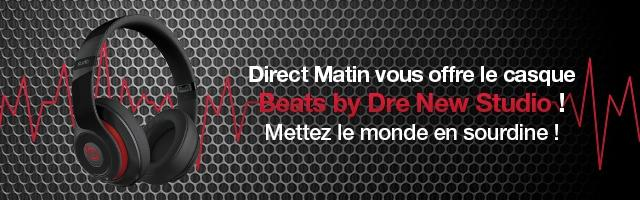 Gagnez le casque Beats by Dre New Studio