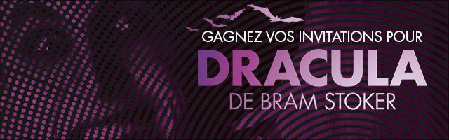 Gagnez vos invitations pour le concert fiction Dracula