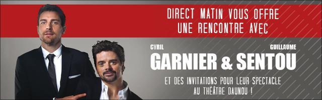 Gagnez une rencontre avec Garnier & Sentou