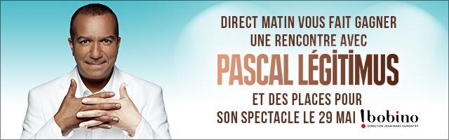 Gagnez une rencontre avec Pascal Legitimus