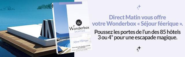 Jeu concours : gagnez une Wonderbox Séjour féerique