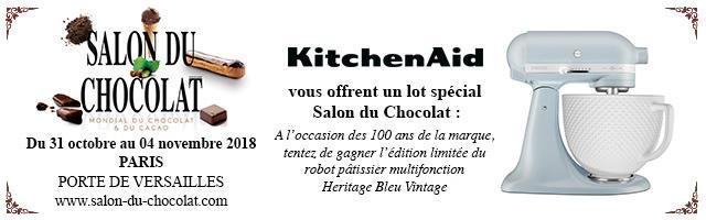 Gagnez votre pack Salon du Chocolat Kitchenaids!