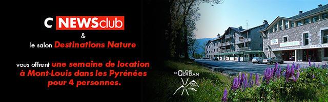 Gagnez une semaine de location à Mont-Louis dans les Pyrénées !