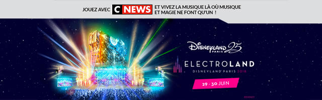 Gagnez un week-end à Disneyland !