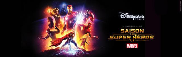 Gagnez votre séjour épique pendant La Saison des Super Héros Marvel!