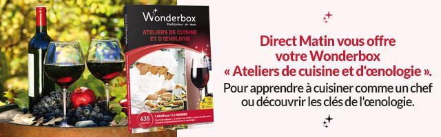 Jeu concours : une Wonderbox cuisine et œnologie