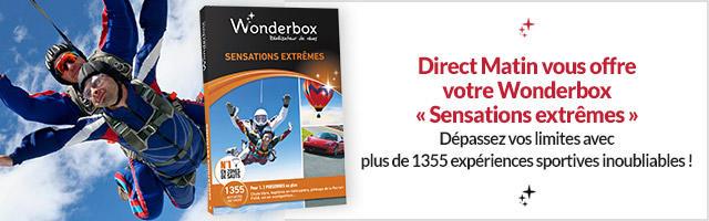 Gagnez votre Wonderbox sensations extrêmes