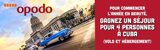 Jeu concours : envolez-vous pour des vacances à Cuba