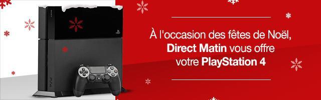 Gagnez une PS4 pour Noël