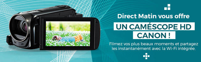 Jeu concours : gagnez votre caméscope HD Canon