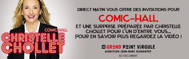 Concours : vos invitations pour le nouveau spectacle musical de Christelle Chollet