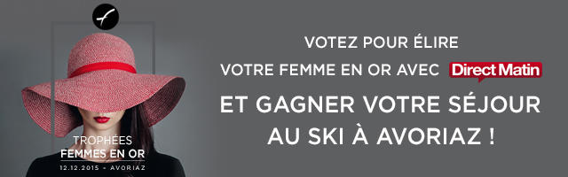 Votez pour élire votre Femme en Or et gagnez un séjour d'une semaine au ski