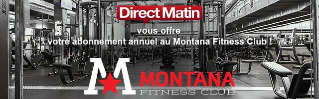 Gagnez votre abonnement annuel au Montana Fitness Club