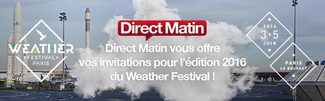 Gagnez vos invitations pour l'édition 2016 du Weather Festival