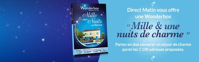 Jeu concours : gagnez une Wonderbox Mille & une nuit de charme