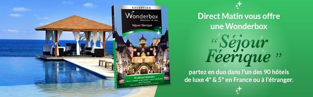 Jeu concours : gagnez une Wonderbox Séjour Féérique