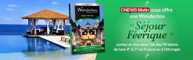 """Gagnez une Wonderbox """"Séjour Féerique"""""""