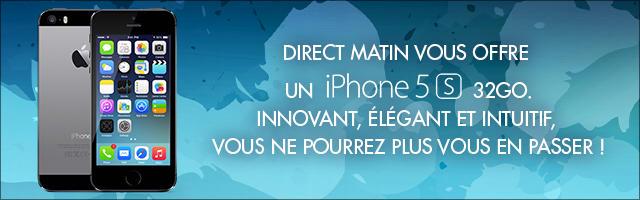 Concours : gagnez un iPhone 5S