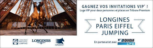 Gagnez des invitations VIP pour le Longines Paris Eiffel Jumping