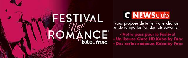 Gagnez vos invitations pour le Festival New Romance !