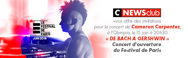 Gagnez des invitations pour le concert d'ouverture du Festival de Paris !