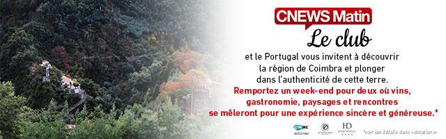 Gagnez un week-end pour deux dans la région de Coimbra !
