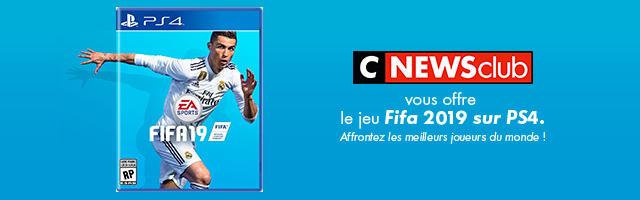 Gagnez votre jeu Fifa19 !