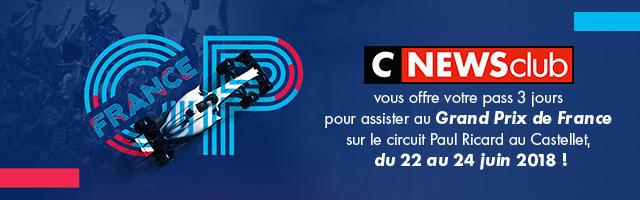 Gagnez votre pass 3 jours pour le Grand Prix de France !