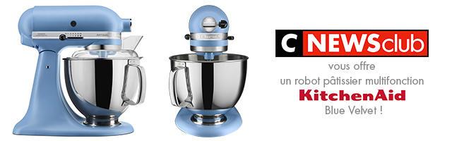 Gagnez votre robot KitchenAid