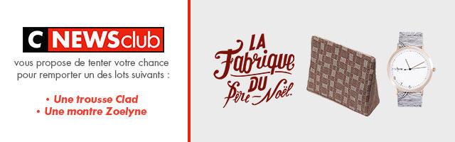 """Gagnez votre lot """"La Fabrique du Père-Noël""""!"""