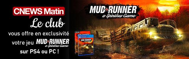 Gagnez votre jeu vidéo MudRunner !