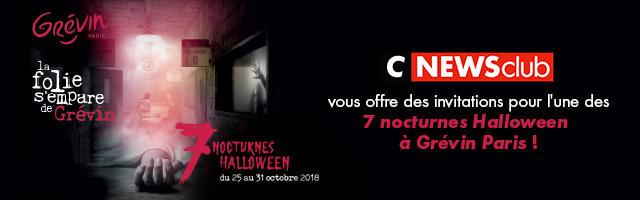 Gagnez vos invitations nocturnes spécial Halloween du Musée Grévin!