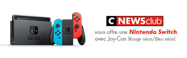 Gagnez votre Nintendo Switch!