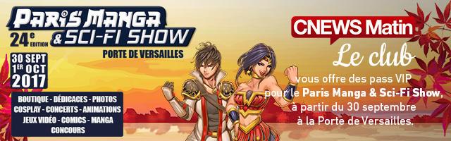 Gagnez vous invitations pour le Paris Manga & Sci-Fi Show !