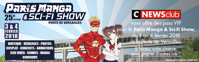 Gagnez un lot spécial Paris Manga Show !