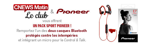Gagnez votre pack sport Pioneer !