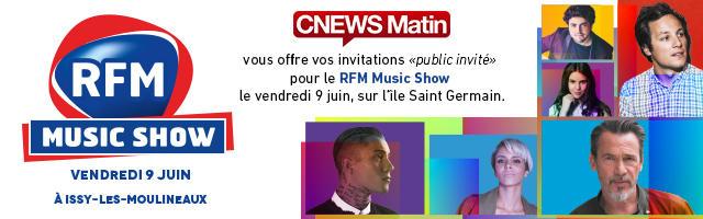 """Gagnez vos invitations """"public invité"""" pour le RFM Music Show"""