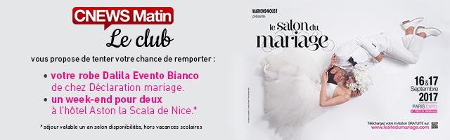 Gagnez votre dotation spéciale Salon du Mariage !