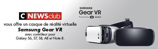 Gagnez votre casque de réalité virtuelle