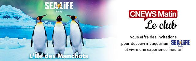 Gagnez vos invitations pour Sea Life !