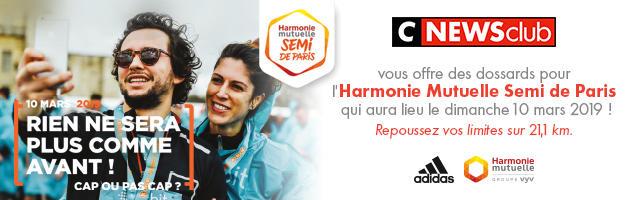 Gagnez votre dossard pour l'Harmonie Mutuelle semi de Paris