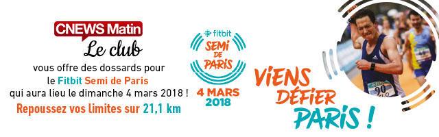 Gagnez votre dossard pour le Semi de Paris 2018 !