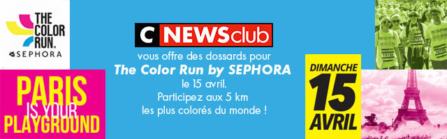 Gagnez votre dossard pour la Color Run de Paris !