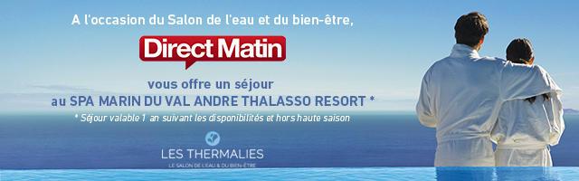 Gagnez un séjour pour deux au Spa Marin du Val André