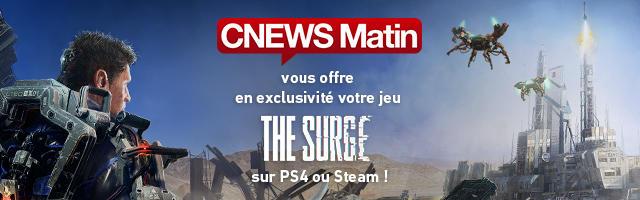 Concours : gagnez votre jeu THE SURGE sur PS4 ou Steam