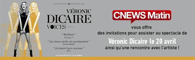 Gagnez vos invitations pour le spectacle de Véronic Dicaire